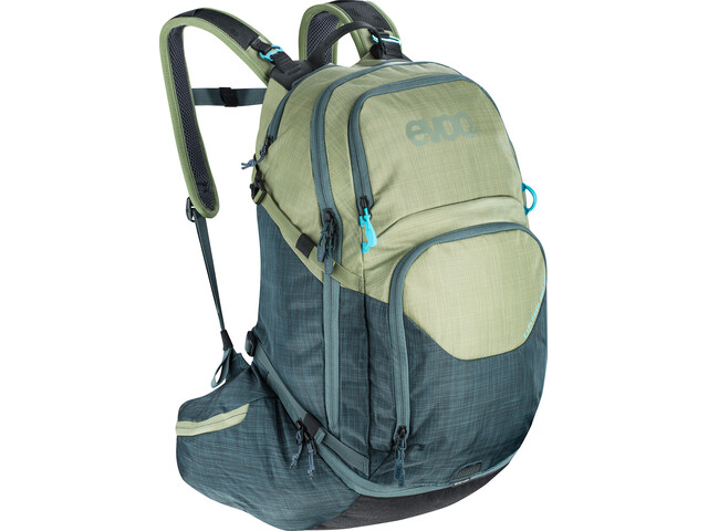 EVOC Explr Pro Technical Performance Plecak 26L, heather light olive-heather slate